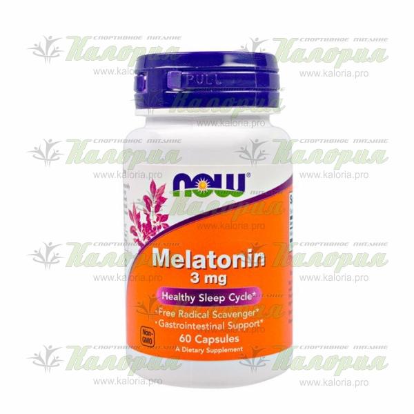 Melatonin 3 mg - 60 caps