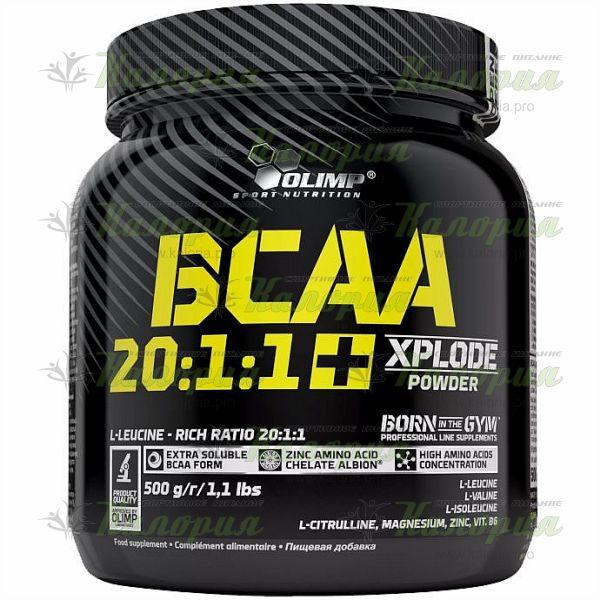 BCAA 20:1:1 Xplode Powder - 500 г