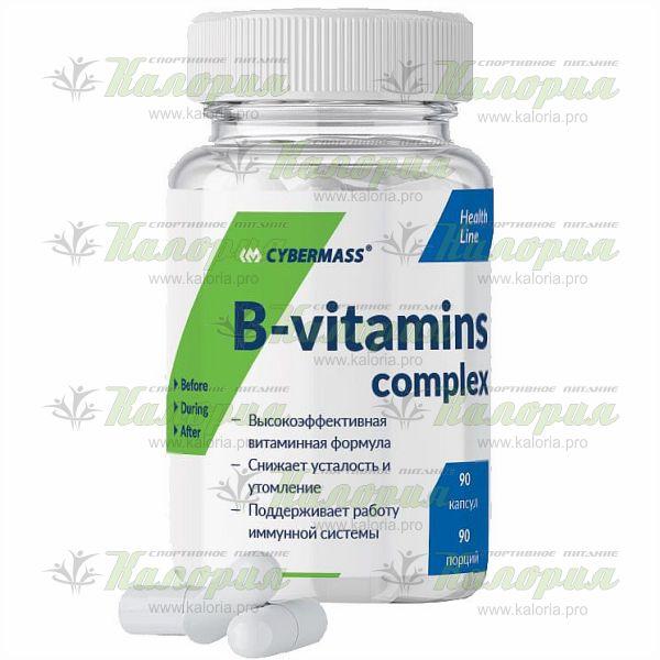 B-vitamins complex - 90 caps
