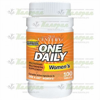 One Daily Women's - 100 tabs