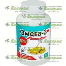 Омега-3 концентрат 60% - 90 капс.